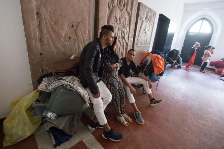 Asylbewerber in Regensburger Dom