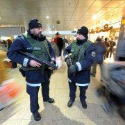 Streife der Bundespolizei im Hauptbahnhof Hannover Foto: picture alliance / dpa