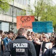 Schulstreik-Demonstration im April 2016 Foto: picture alliance/NurPhoto