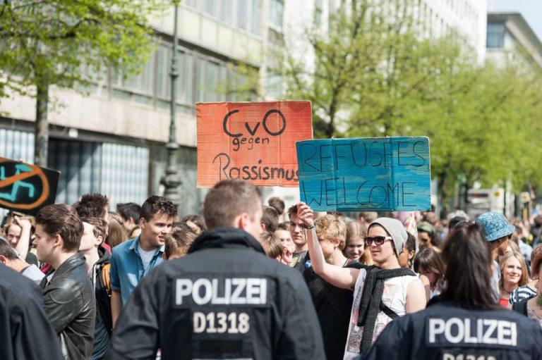 Schulstreik-Demonstratoin