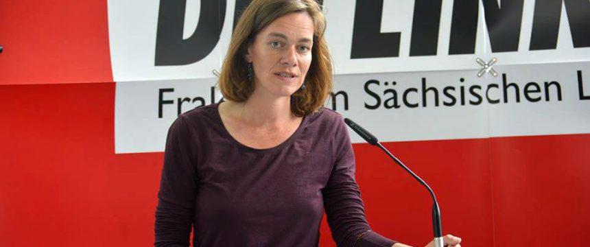 Juliane Nagel: Unterstützt Linksextreme Foto: dpa