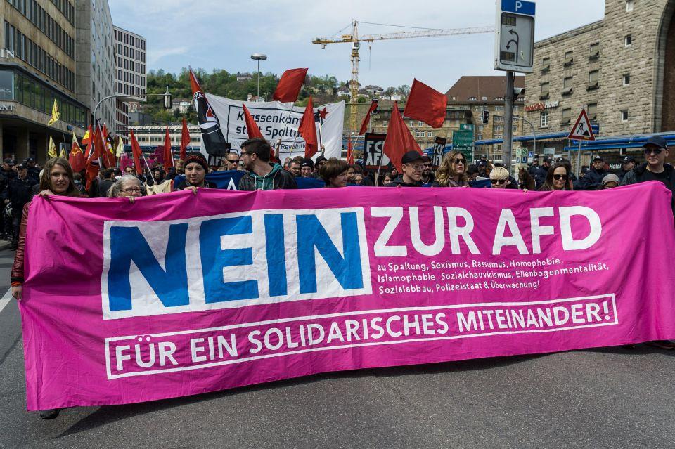 Anti-AfD-Demonstration