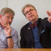 Jörg Meuten und Heinrich Fiechtner Foto: dpa