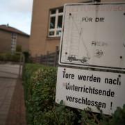 Die betroffenen Schule in Euskirchen: Täter polizeibekannt Foto: picture alliance/dpa