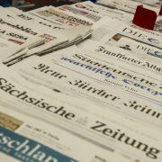 Zeitungsauslage: Das Monopol der Medienclaqueure wankt Foto: picture alliance / dpa