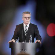 Bundesinnenminister Thomas de Maizière (CDU) Foto: picture alliance / dpa