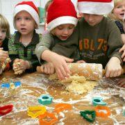 Weihnachtszeit im Kindergarten Foto: picture-alliance/ZB