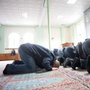 Moslems beim Gebet in einer Moschee Foto: picture alliance/dpa
