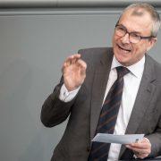 Grünen-Politiker Volker Beck im Bundestag Foto: picture alliance / dpa