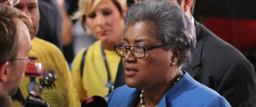 Donna Brazile: Zählt zu den bekanntesten Gesichtern der Demokraten Foto: picture alliance / newscom