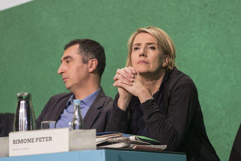 Cem Özdemir und Simone Peter