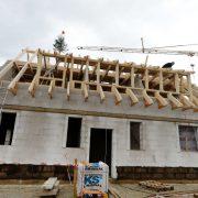 Baustelle für ein Einfamilienhaus Foto: picture alliance / Frank May