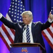 Geht es mit ihm aufwärts? Der designierte US-Präsident Donald Trump Foto: picture alliance / AP Images