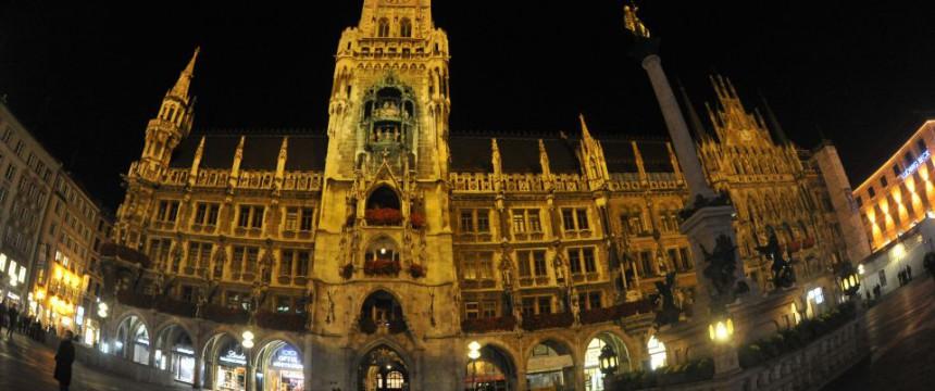 Münchner Rathaus: Oberbürgermeister lud all 18 Jahre alten Münchner ein – auch Asylsuchende Foto: dpa