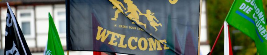 """""""Refugees Welcome""""-Demonstration"""