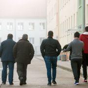 Asylsuchende (Archivbild): Kölner Willkommensinitiativen suchen Helfer Foto: dpa
