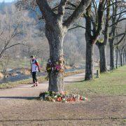 Tatort des Mordes an Maria L.: Die Schattenseite der Willkommenskultur Foto: picture alliance / ROPI