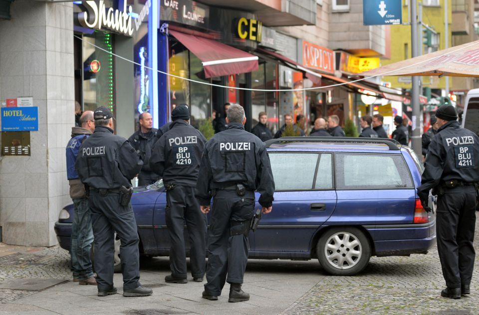 Razzia gegen Taschendiebe in Berlin