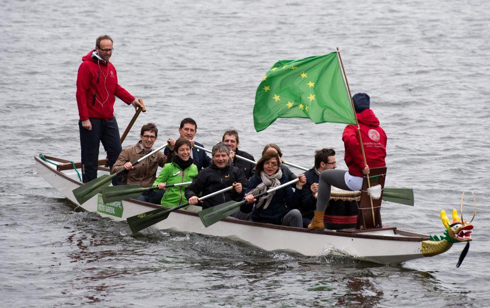 Europawahlkampf der Grünen