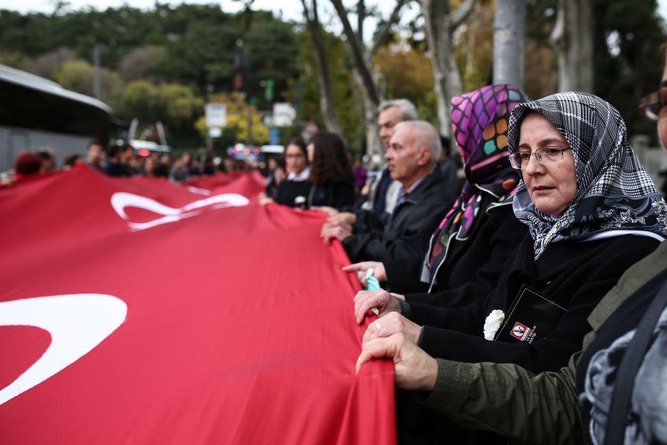 Türkische Demo