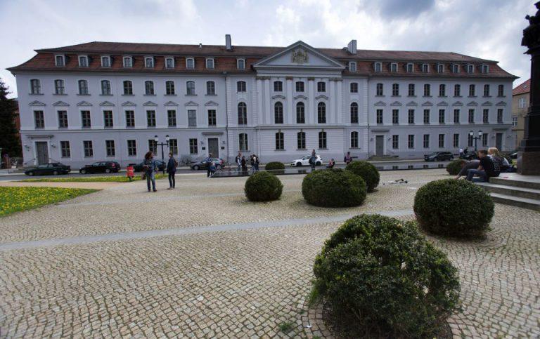 Hauptgebäude der Universität Greifswald