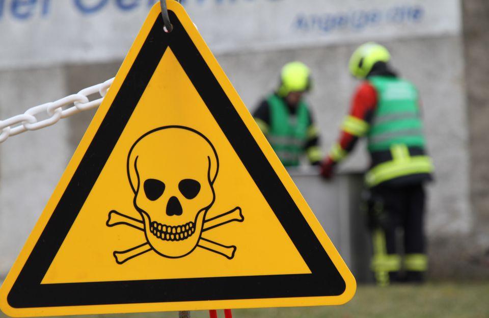 Sicherung von Chemikalien