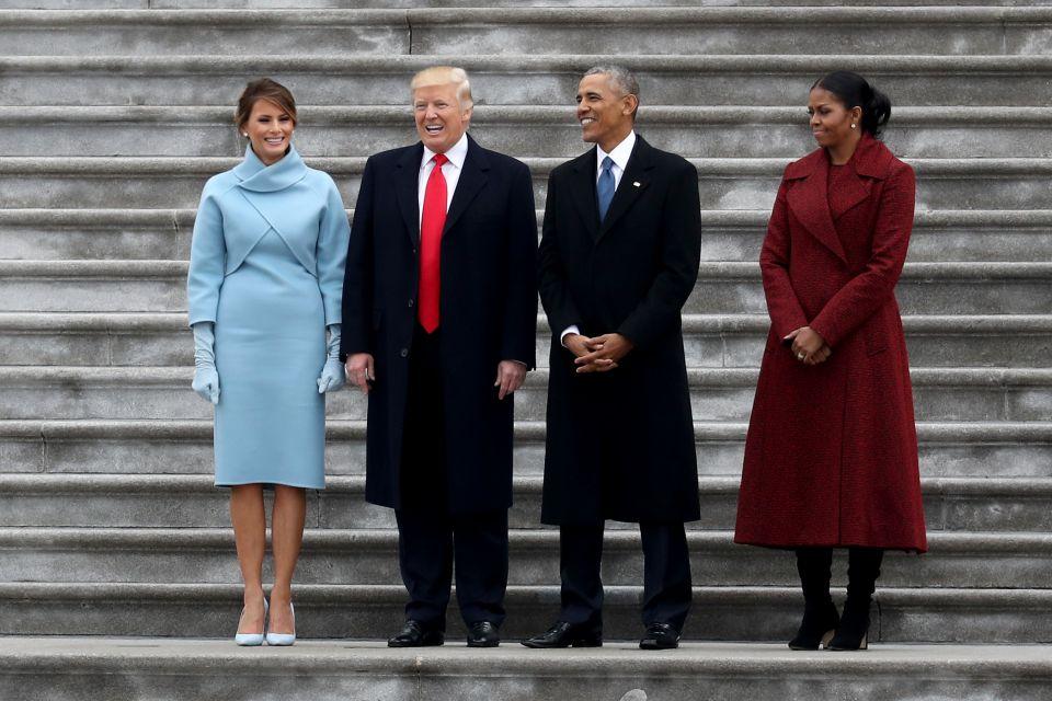Die Trumps und die Obamas