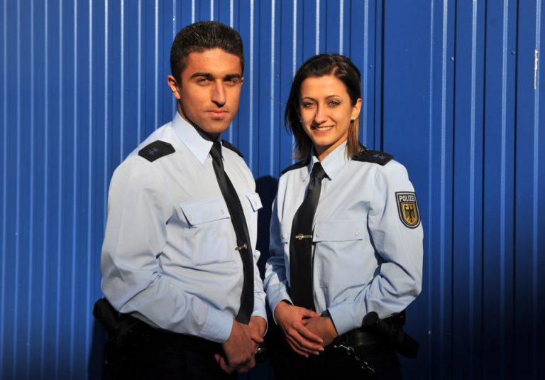 Polizisten mit Migrationshintergrund
