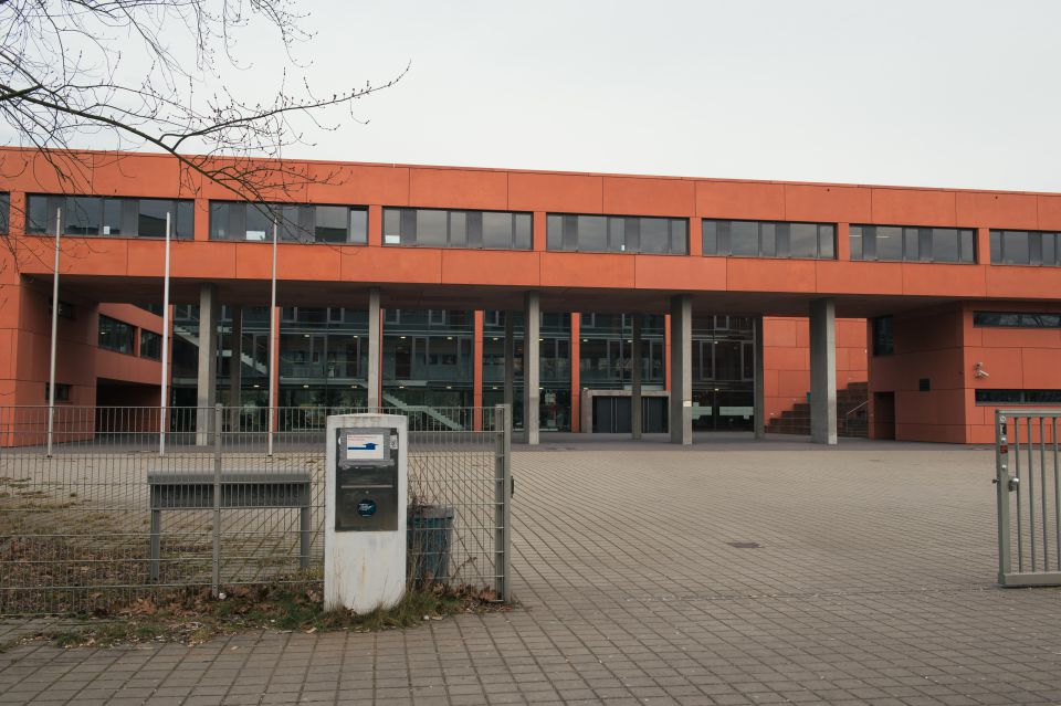 Schulgelaende in Berlin