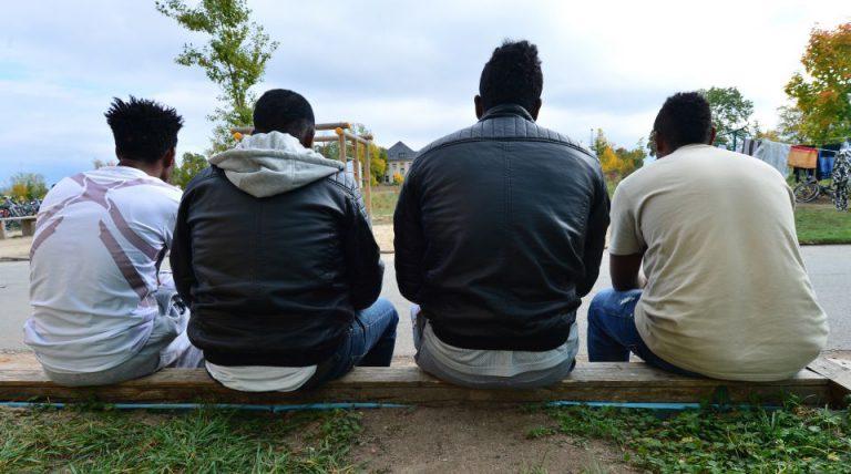Junge Asylbewerber