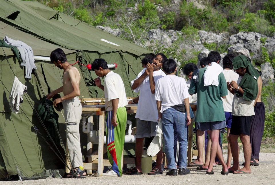 refugees Nauru
