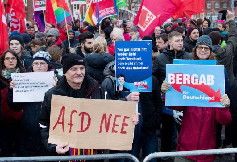 Proteste gegen AfD