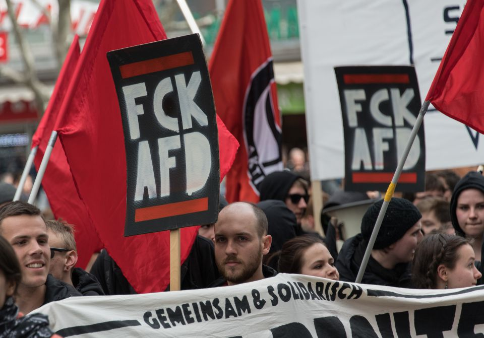 Anti-AfD-Protest