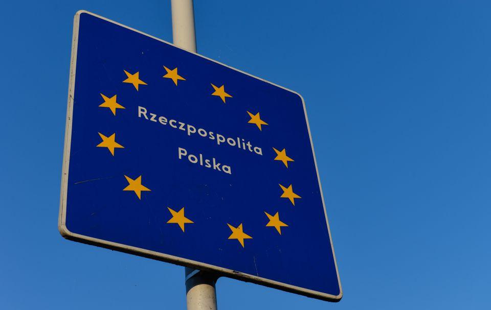 Polnische Grenze