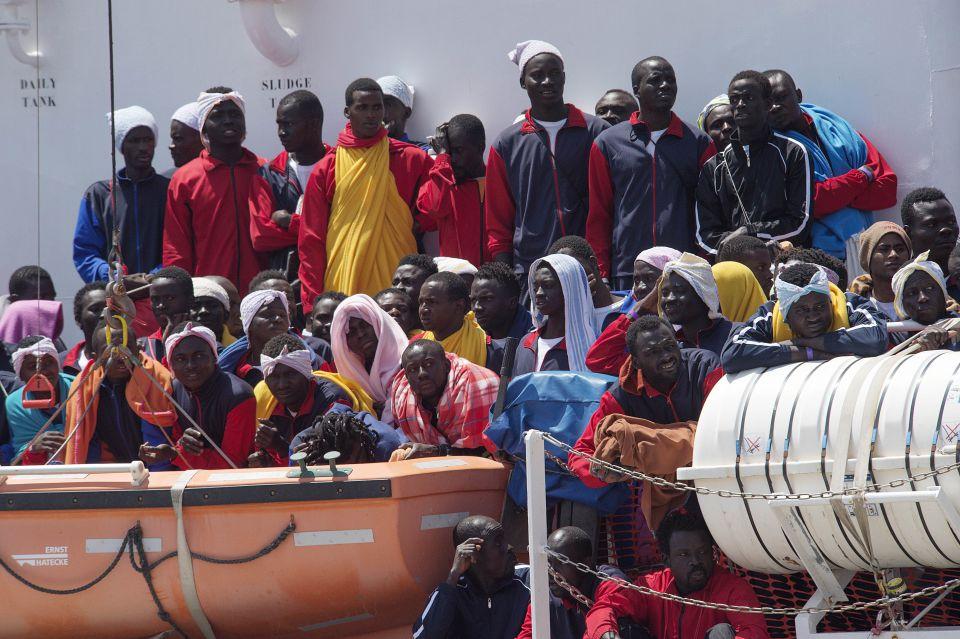 Asylsuchende in Italien