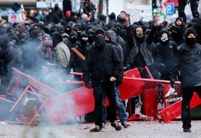 Linksextremisten in Hamburg