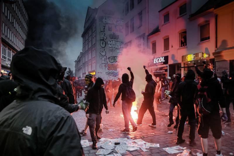 Linksextremisten beim G20-Gipfel