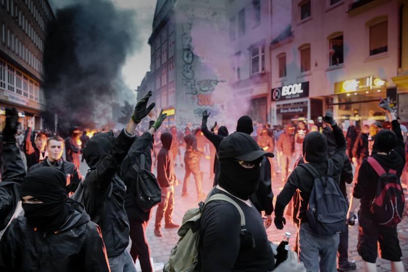 Gewalt im Schanzenviertel