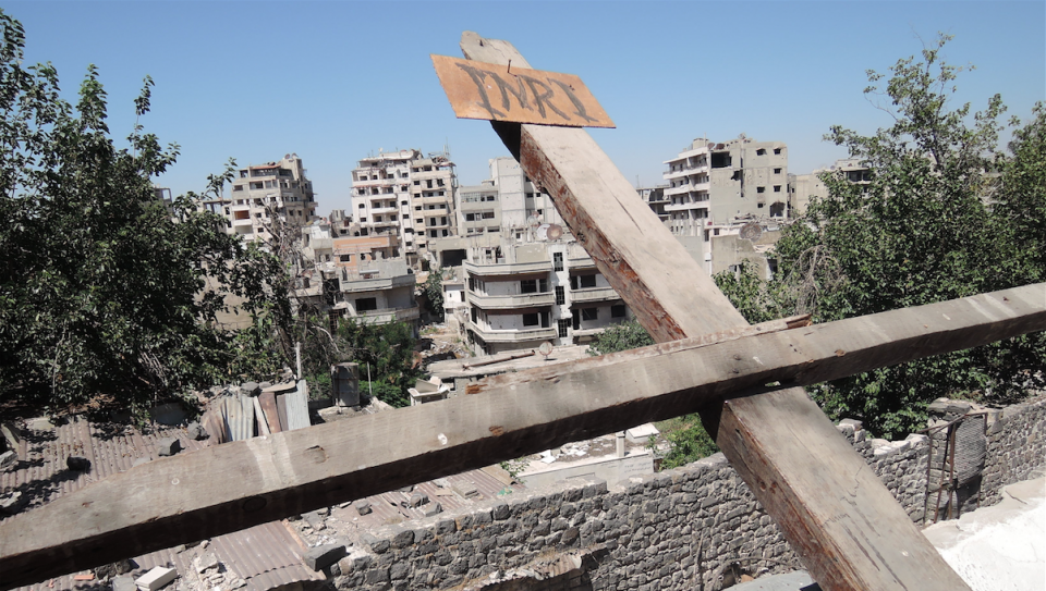 Kreuz in Homs