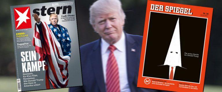 Titelbilder mit Donald Trump