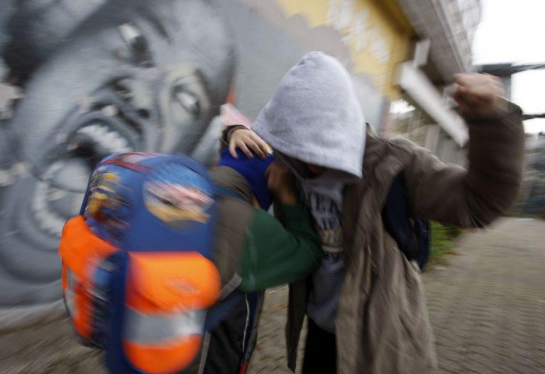 Gewalt auf dem Schulhof
