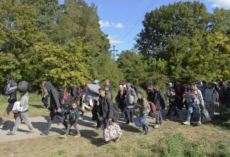 Asylsuchende in Ungarn