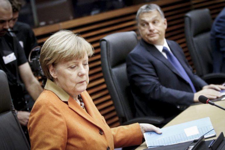 Angela Merkel und Viktor Orbán