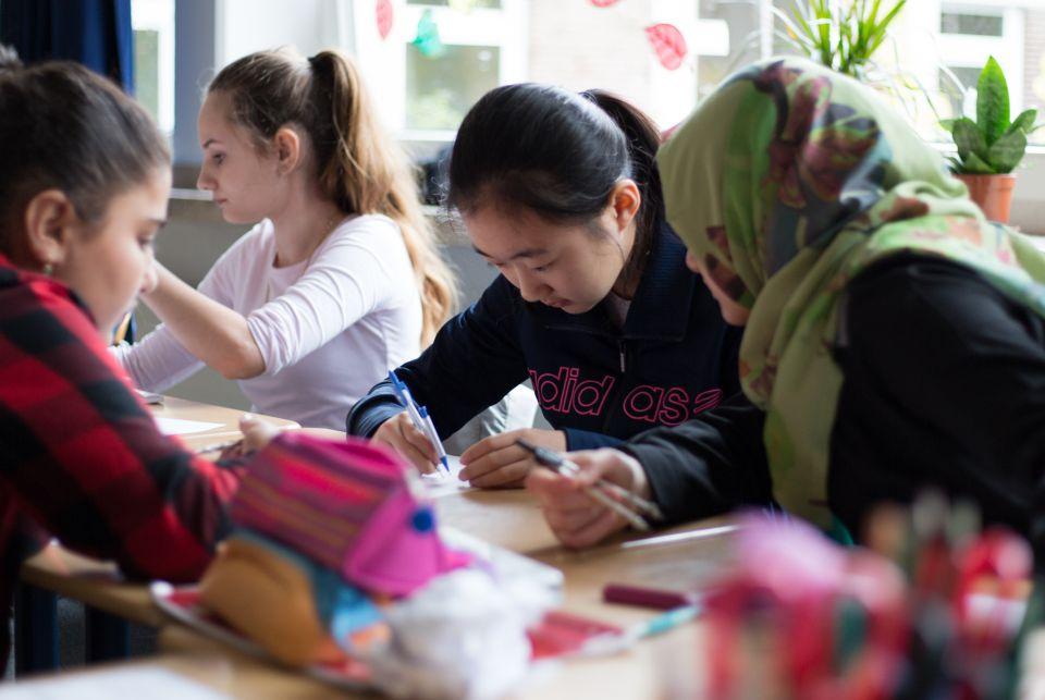Schüler mit Einwanderungshintergrund