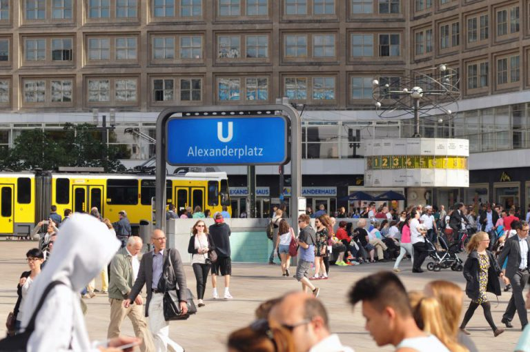 Alexanderplatz in Berlin