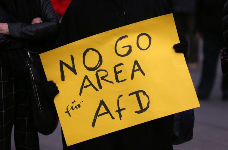 Anti-AfD-Plakat