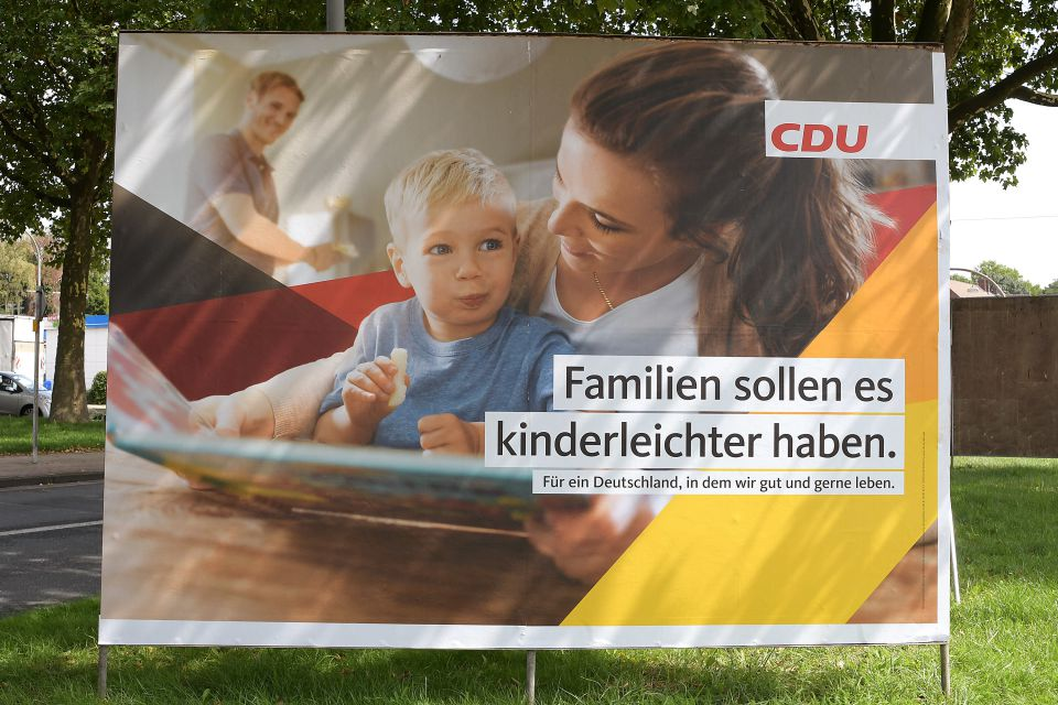 Wahlplakat zur Bundestagswahl 2017