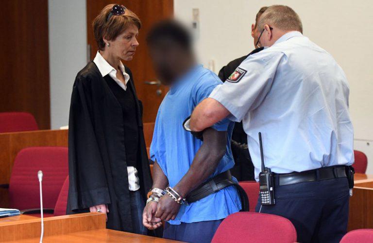 Eric X. vor Gericht
