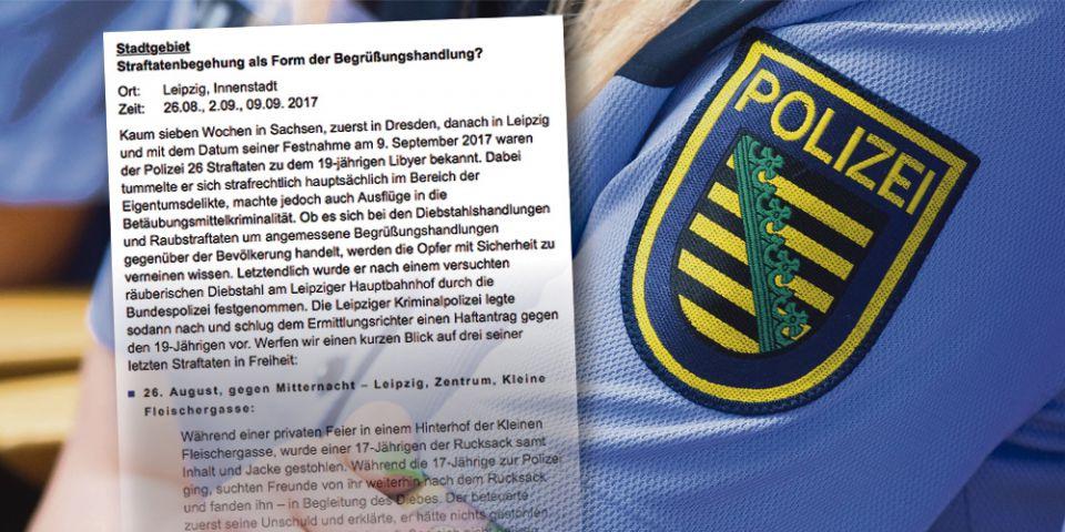 Pressemitteilung Polizei Leipzig