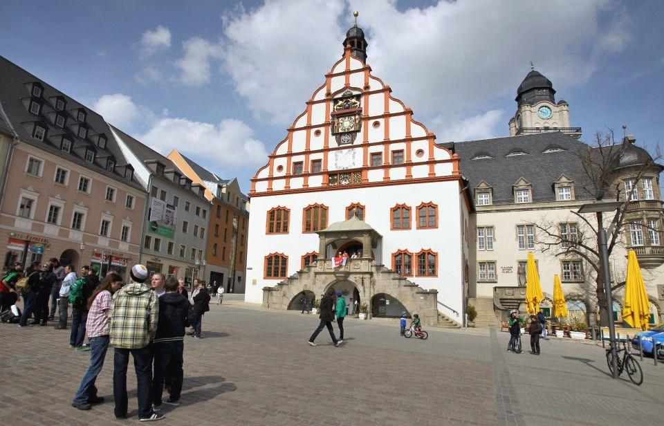 Marktplatz von Plauen